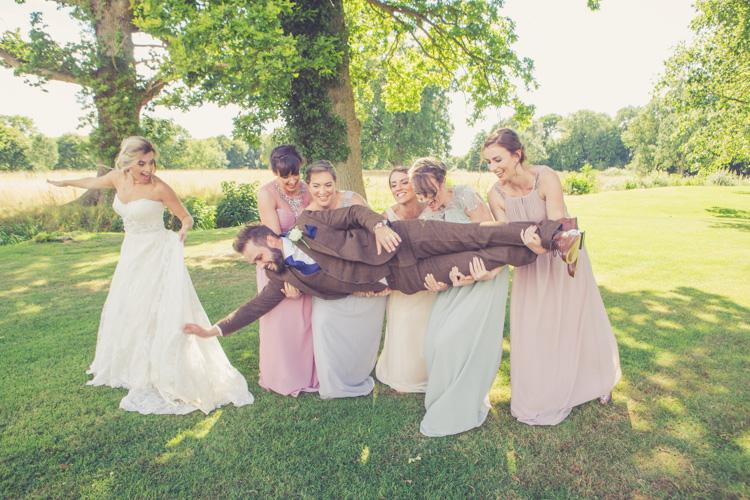 bridesmaids wedding south wales