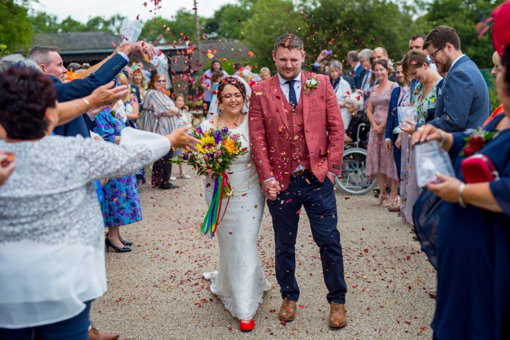 confetti welsh wedding