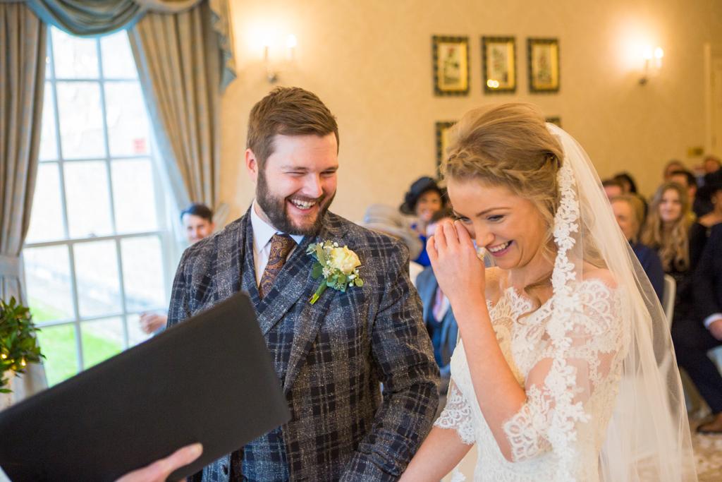 wedding ceremony decourceys manor