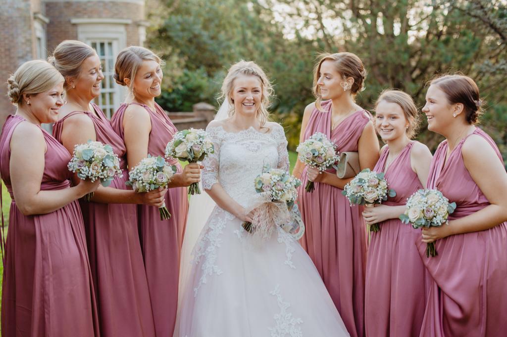 natural wedding photographer decourceys manor