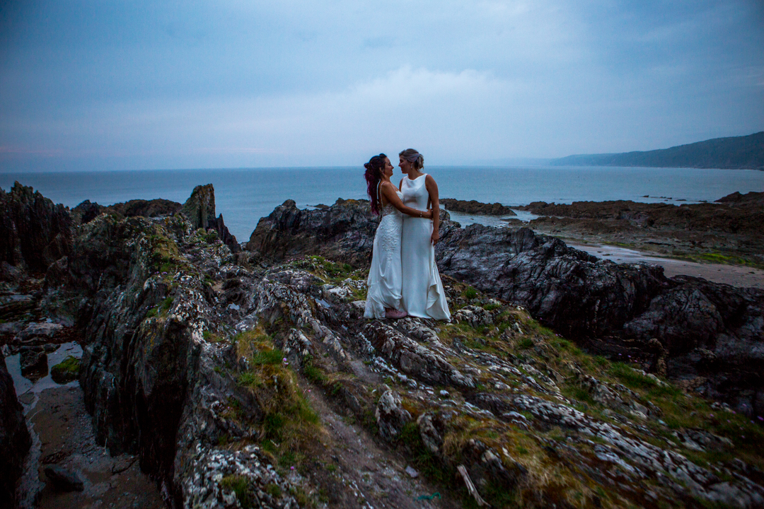 polhawn fort cornwall wedding